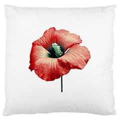 Your Flower Perfume Large Cushion Case (single Sided)  by dflcprints