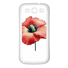 Your Flower Perfume Samsung Galaxy S3 Back Case (white) by dflcprints