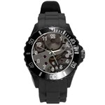 watch - Round Plastic Sport Watch (L)