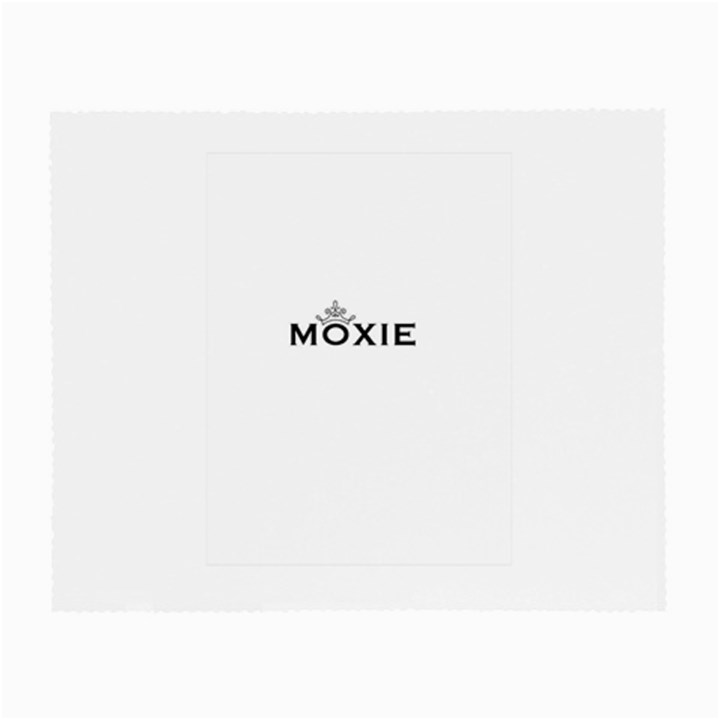 Moxie Logo Glasses Cloth (Small, Two Sided)