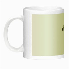 Moxie Logo Glow In The Dark Mug by MiniMoxie