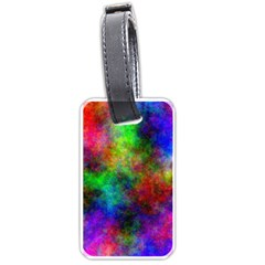 Plasma 21 Luggage Tag (one Side) by BestCustomGiftsForYou