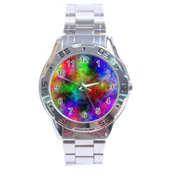 Plasma 21 Stainless Steel Watch by BestCustomGiftsForYou