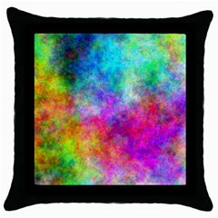 Plasma 22 Black Throw Pillow Case by BestCustomGiftsForYou