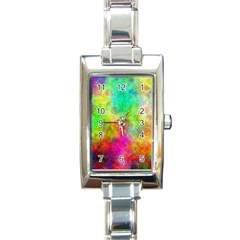 Plasma 24 Rectangular Italian Charm Watch by BestCustomGiftsForYou