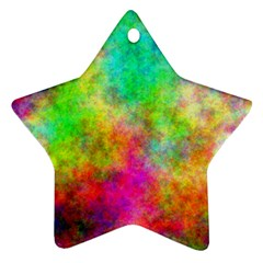Plasma 24 Star Ornament by BestCustomGiftsForYou