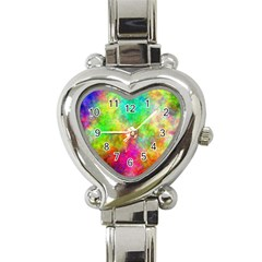 Plasma 24 Heart Italian Charm Watch  by BestCustomGiftsForYou