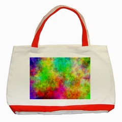 Plasma 24 Classic Tote Bag (red) by BestCustomGiftsForYou