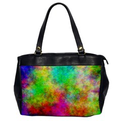 Plasma 24 Oversize Office Handbag (One Side) by BestCustomGiftsForYou