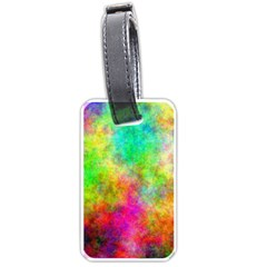 Plasma 24 Luggage Tag (two Sides) by BestCustomGiftsForYou