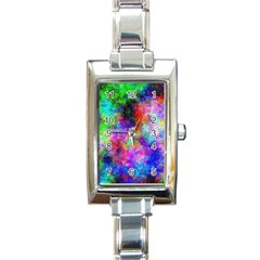 Plasma 26 Rectangular Italian Charm Watch by BestCustomGiftsForYou