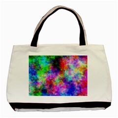 Plasma 26 Twin Sided Black Tote Bag by BestCustomGiftsForYou