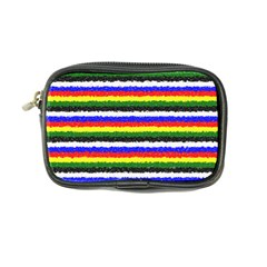 Horizontal Basic Colors Curly Stripes Coin Purse by BestCustomGiftsForYou