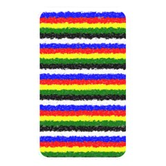 Horizontal Basic Colors Curly Stripes Memory Card Reader (rectangular) by BestCustomGiftsForYou