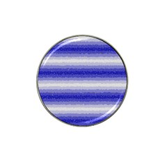 Horizontal Dark Blue Curly Stripes Golf Ball Marker 10 Pack (for Hat Clip) by BestCustomGiftsForYou