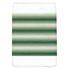 Horizontal Dark Green Curly Stripes Removable Flap Cover (large) by BestCustomGiftsForYou