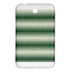 Horizontal Dark Green Curly Stripes Samsung Galaxy Tab 3 (7 ) P3200 Hardshell Case  by BestCustomGiftsForYou