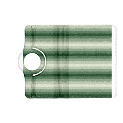 Horizontal Dark Green Curly Stripes Kindle Fire Hd (2013) Flip 360 Case by BestCustomGiftsForYou
