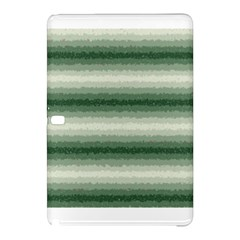 Horizontal Dark Green Curly Stripes Samsung Galaxy Tab Pro 10 1 Hardshell Case by BestCustomGiftsForYou