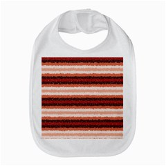 Horizontal Native American Curly Stripes   1 Bib by BestCustomGiftsForYou
