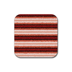 Horizontal Native American Curly Stripes   1 Drink Coaster (square) by BestCustomGiftsForYou