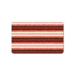 Horizontal Native American Curly Stripes   1 Magnet (name Card) by BestCustomGiftsForYou