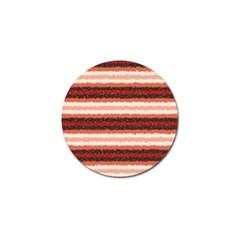 Horizontal Native American Curly Stripes   1 Golf Ball Marker by BestCustomGiftsForYou
