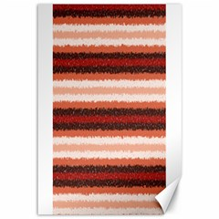 Horizontal Native American Curly Stripes   1 Canvas 12  X 18  (unframed) by BestCustomGiftsForYou