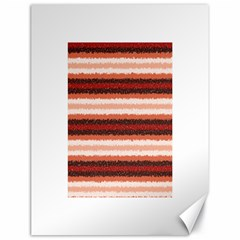 Horizontal Native American Curly Stripes - 1 Canvas 18  x 24  (Unframed)