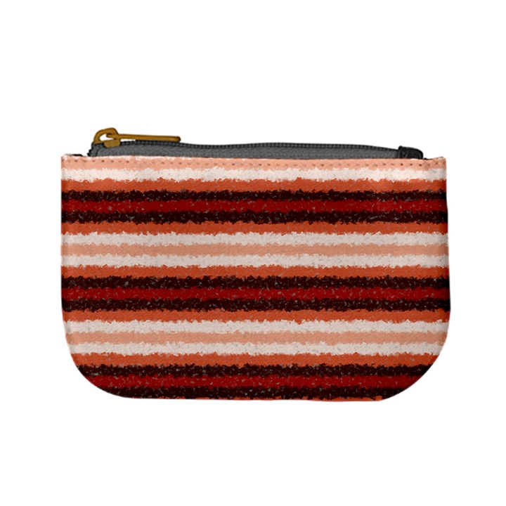 Horizontal Native American Curly Stripes - 1 Coin Change Purse