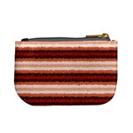 Horizontal Native American Curly Stripes - 1 Coin Change Purse Back