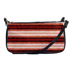 Horizontal Native American Curly Stripes   1 Evening Bag by BestCustomGiftsForYou