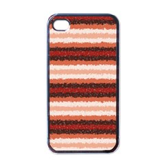 Horizontal Native American Curly Stripes   1 Apple Iphone 4 Case (black) by BestCustomGiftsForYou