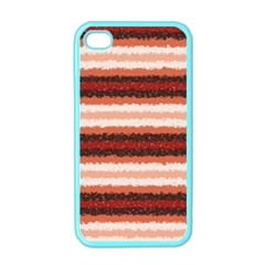 Horizontal Native American Curly Stripes   1 Apple Iphone 4 Case (color) by BestCustomGiftsForYou