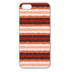 Horizontal Native American Curly Stripes   1 Apple Seamless Iphone 5 Case (clear) by BestCustomGiftsForYou
