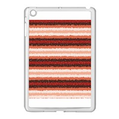 Horizontal Native American Curly Stripes   1 Apple Ipad Mini Case (white) by BestCustomGiftsForYou
