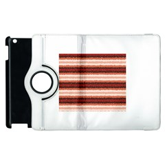 Horizontal Native American Curly Stripes   1 Apple Ipad 3/4 Flip 360 Case by BestCustomGiftsForYou