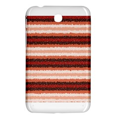 Horizontal Native American Curly Stripes   1 Samsung Galaxy Tab 3 (7 ) P3200 Hardshell Case  by BestCustomGiftsForYou
