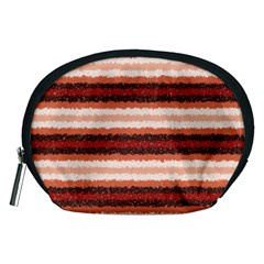 Horizontal Native American Curly Stripes - 1 Accessory Pouch (Medium)