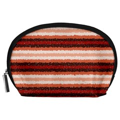 Horizontal Native American Curly Stripes   1 Accessory Pouch (large) by BestCustomGiftsForYou