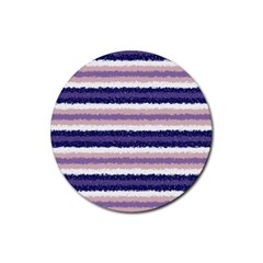 Horizontal Native American Curly Stripes   2 Drink Coaster (round) by BestCustomGiftsForYou