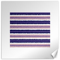 Horizontal Native American Curly Stripes   2 Canvas 20  X 20  (unframed)