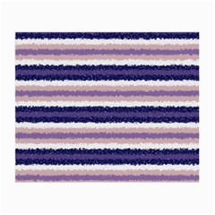 Horizontal Native American Curly Stripes   2 Glasses Cloth (small, Two Sided) by BestCustomGiftsForYou