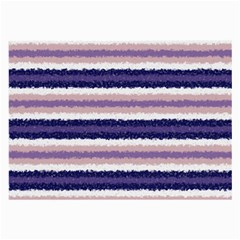 Horizontal Native American Curly Stripes   2 Glasses Cloth (large) by BestCustomGiftsForYou