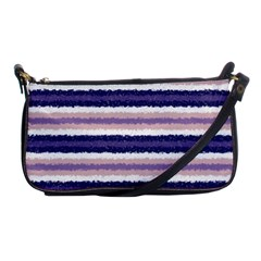 Horizontal Native American Curly Stripes   2 Evening Bag by BestCustomGiftsForYou