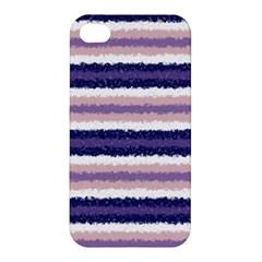 Horizontal Native American Curly Stripes   2 Apple Iphone 4/4s Hardshell Case by BestCustomGiftsForYou