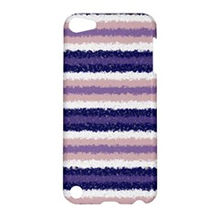 Horizontal Native American Curly Stripes   2 Apple Ipod Touch 5 Hardshell Case by BestCustomGiftsForYou