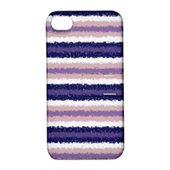 Horizontal Native American Curly Stripes   2 Apple Iphone 4/4s Hardshell Case With Stand by BestCustomGiftsForYou