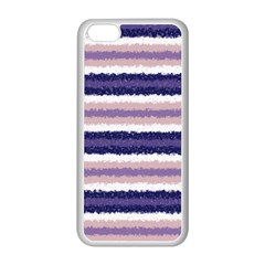 Horizontal Native American Curly Stripes   2 Apple Iphone 5c Seamless Case (white) by BestCustomGiftsForYou