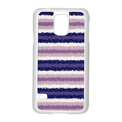 Horizontal Native American Curly Stripes   2 Samsung Galaxy S5 Case (white) by BestCustomGiftsForYou
